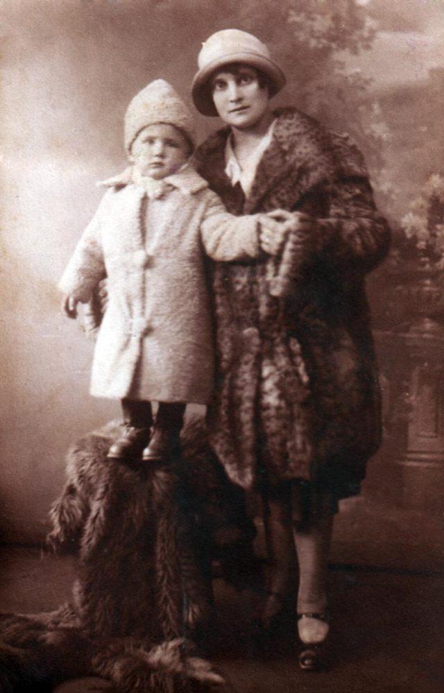 Марія Тиктор з сином Зеновієм