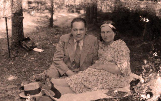 Іван Тиктор з дружиною Марією
