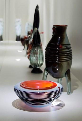 Виставка робіт Олександра Звіра в Музеї скла. Фото: Ксенія Янко