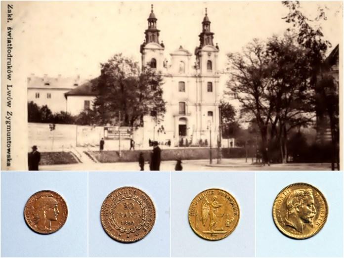 Золоті монети Наполеона ІІІ, або скарб в костелі Марії Магдалини