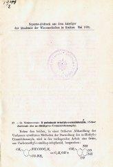 Niementowski St. «O pochodnych m-metylo-o-uramidobenzolu»