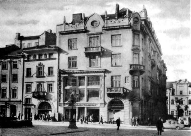 Торговий дім Ціпперів на площі Ринок