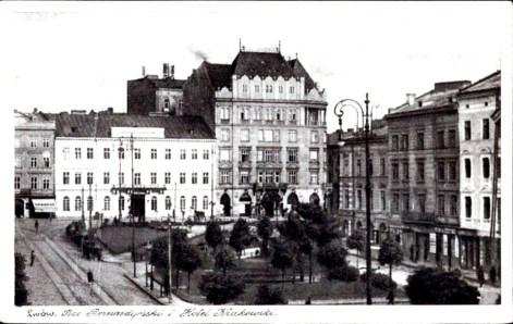 Готель «Краківський» у 1920-х рр.