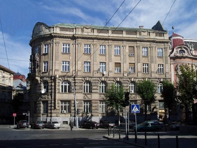 Колишній Австро-угорський банк на вул. Листопадового чину №8