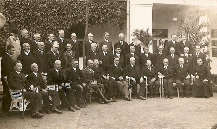 Елітарне зібрання місцевої та курортної інтелігенції, 1930-і