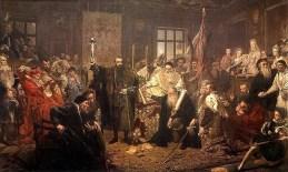 Картина Яна Матейка «Люблінська унія» (1869)