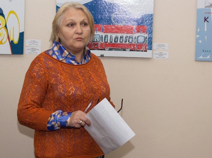 Завідувач художньо-меморіального музею Олени Кульчицької у Львові Любов Кость.