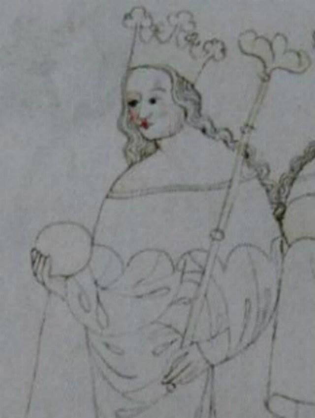 Королева Кунігунда. Фото з http://tayni.info/51792/