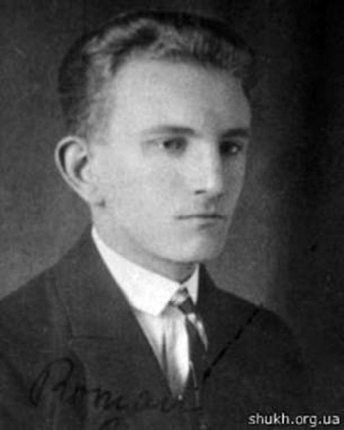 Роман Шухевич. Фото з особистої справи студента, 1926