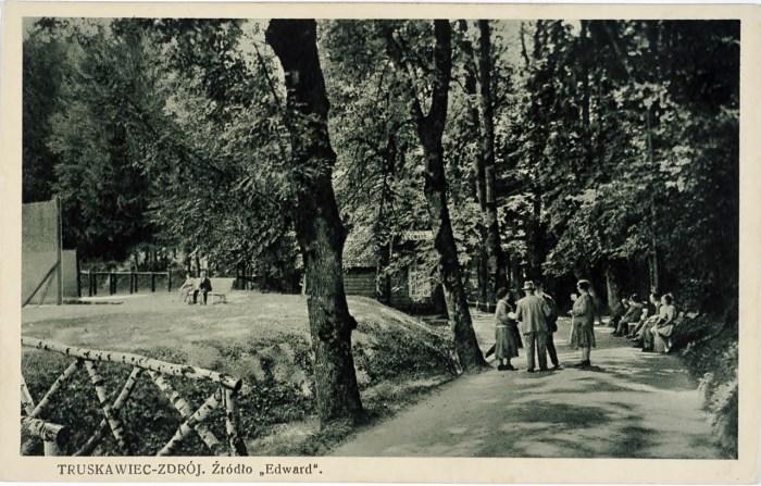 Центральна алея курортного парку, поч. ХХ ст.