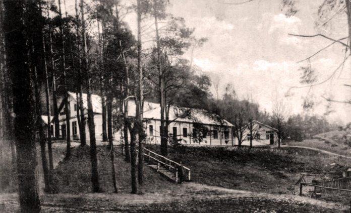 Один з павільйонів лічниці Львівського Товариства боротьби з туберкульозом, 1930-ті рр.