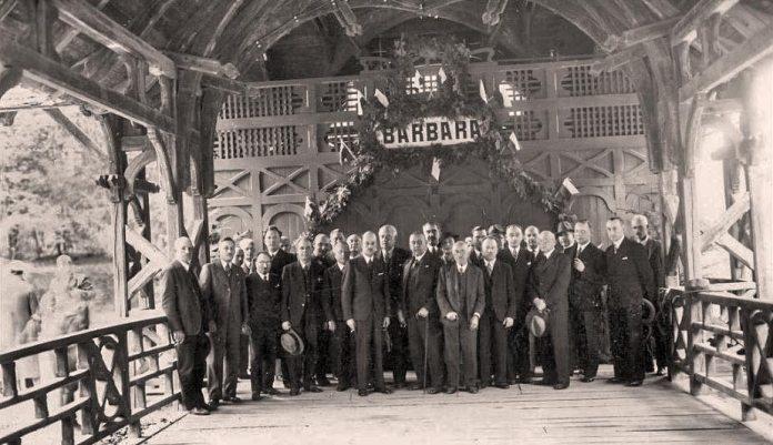 "Трускавець. Презентація проекту ""Барбара"", 1936"
