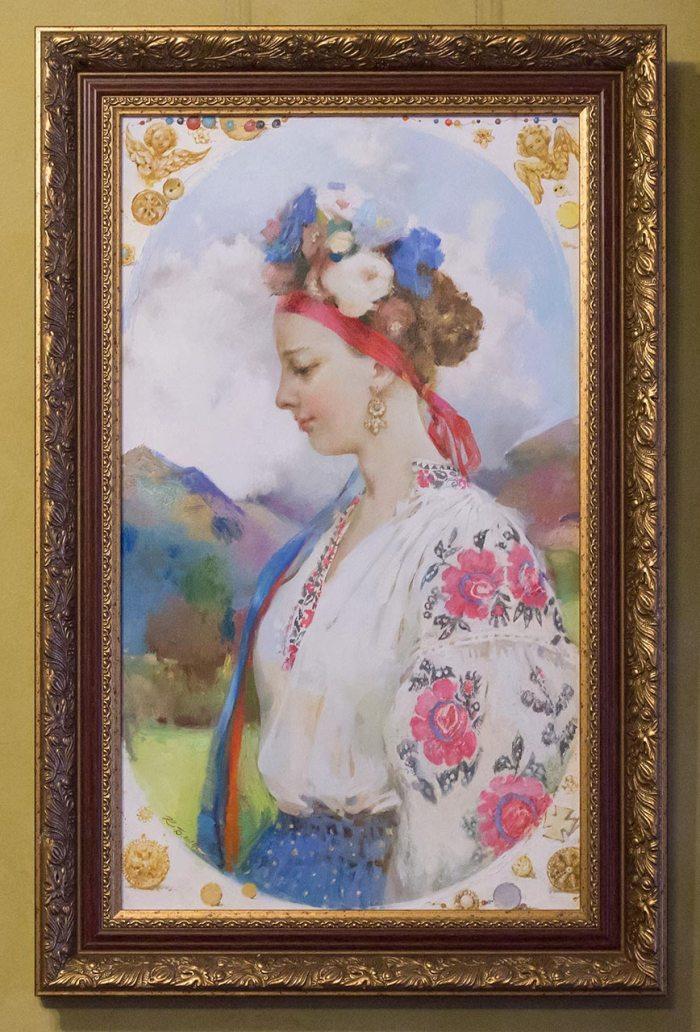 Катерина Білетіна, жіночий портрет