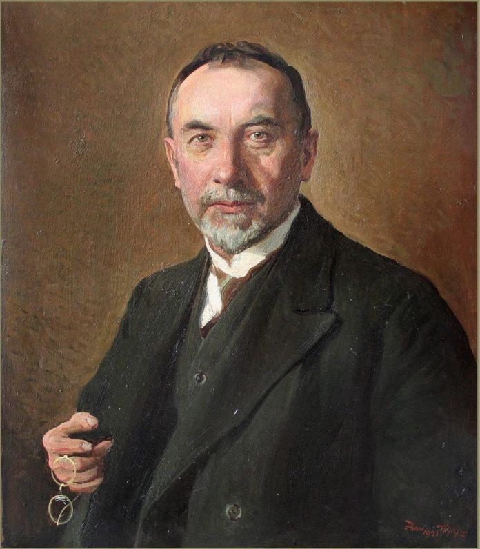 Іван Труш. Портрет Степана Федака. 1925 рік, картон, олія