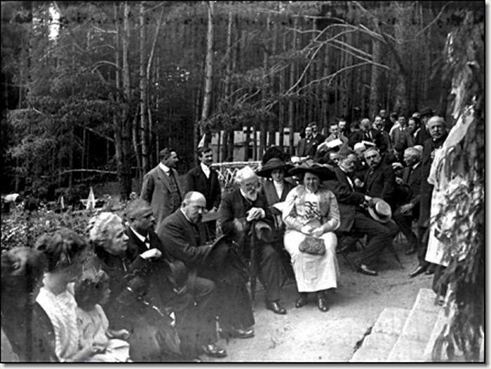 Відкриття лічниці Львівського Товариства боротьби з туберкульозом, 1910 рік