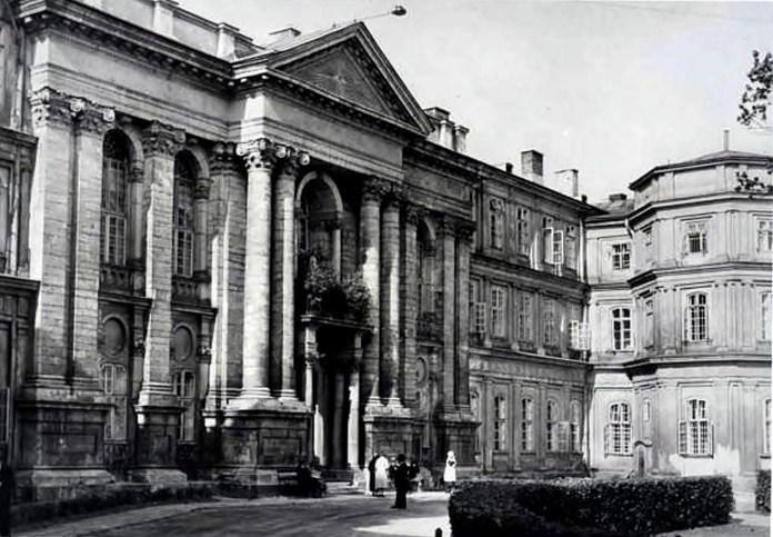 Крайовий загальний шпиталь у 1930-х рр.