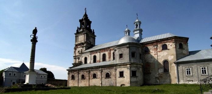 Вежа домініканського монастиря в Підкамені
