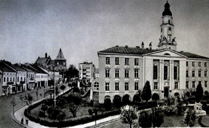 Ратуша в Дрогобичі у радянський період