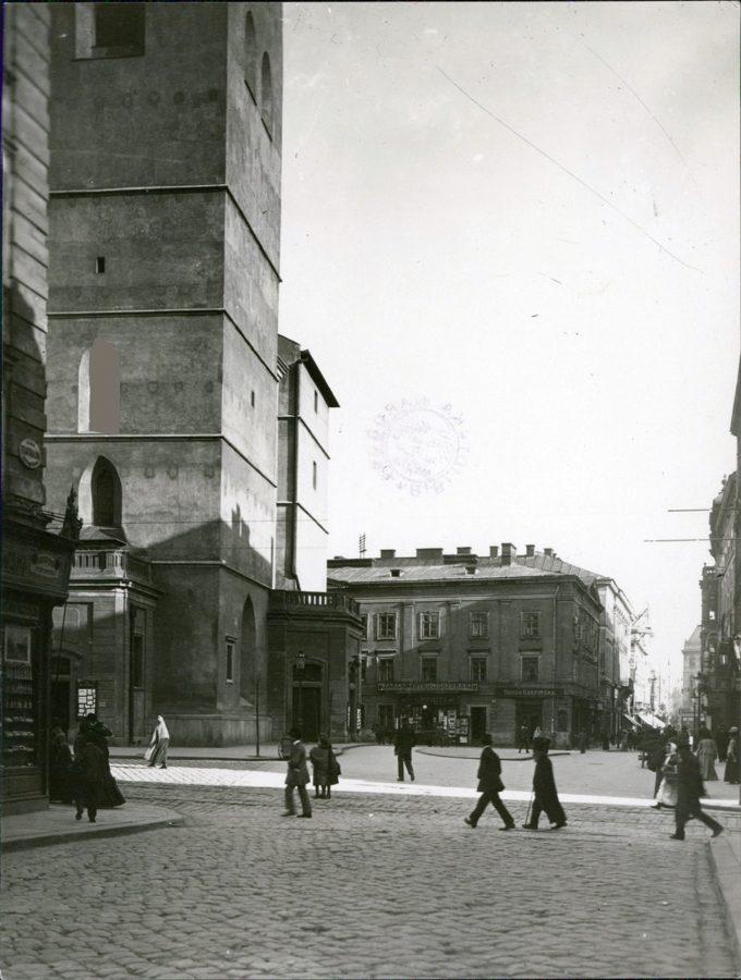 Марек Мюнц. Площа Катедральна, 1915