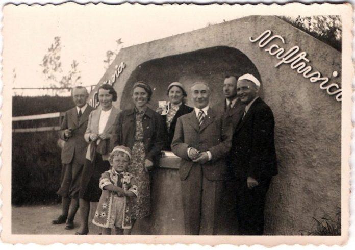 Джерело «Нафтусі» , до 1939 р.