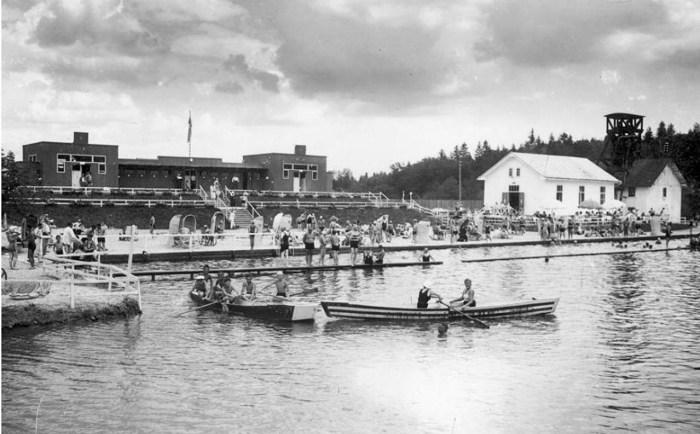 Активний відпочинок на курорті «Помярки», до 1939 р.