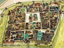 Загальний вигляд макету давнього Львова роботи Януша Вітвіцького. Джерело: http://panoramalwowa.pl