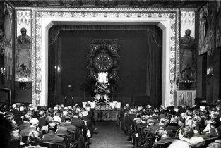 Велика зала МТЛ, фото Г. Янушевського 1930-ті роки.