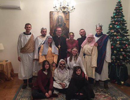Студенти гостювали в Апостольського нунція в Україні Архиєпископа Клаудіо Ґуджеротті