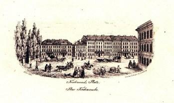 К.Ауер. Площа Фердинанда, 1846-47 рр.