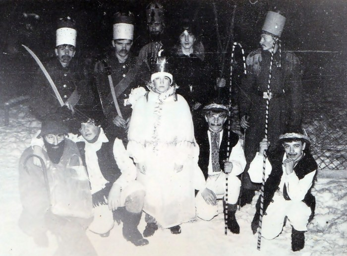 Вертеп. с. Деревач, кінець 80-х рр.