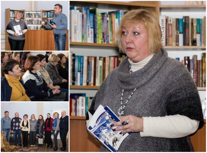 Поетична зустріч з письменницею Людмилою Пуляєвою-Чижович на площі Ринок зібрала справжній аншлаг
