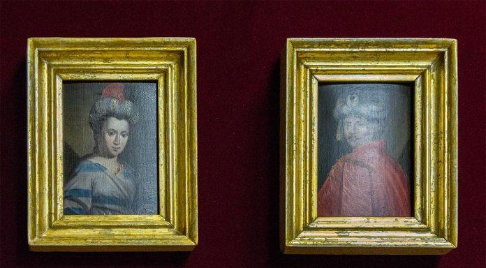 Відреставровані портрети Розанди та Тимоша