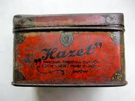 Коробочка для солодощів кондитерської фабрики «Hazet»