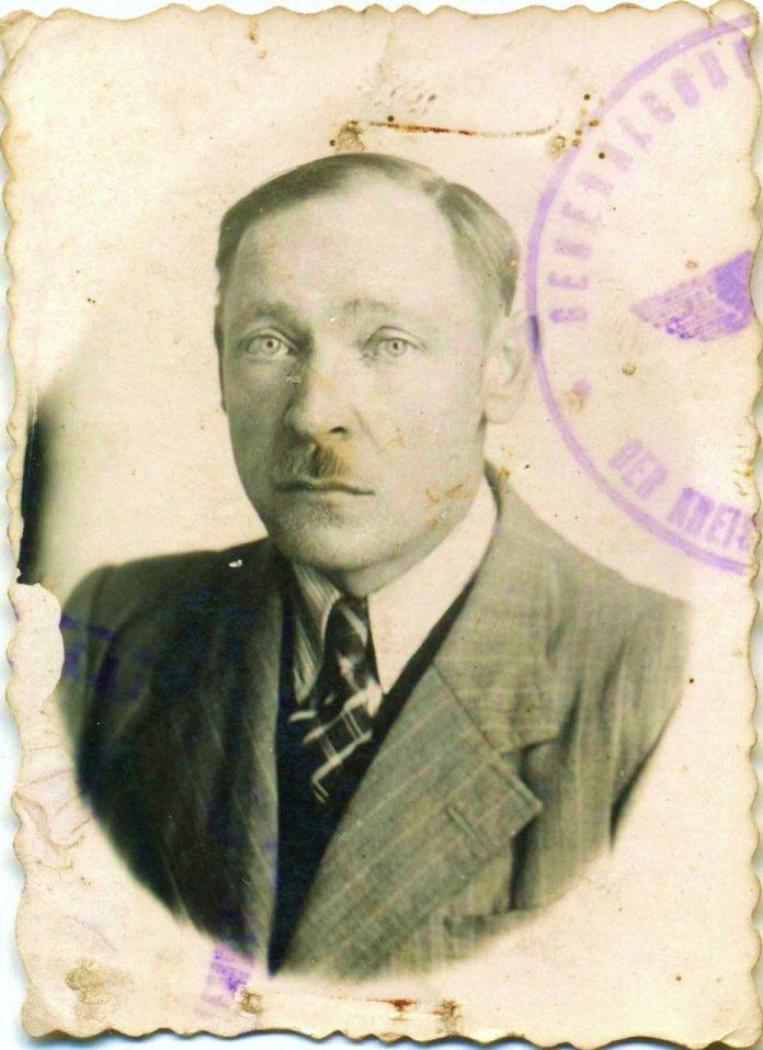 Івасик Василь - секретар гміни Красів(фото періоду німецької окупації)