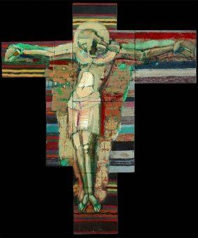 Петро Бевза. Розп'яття, 2007, полотно, олія, 255х215