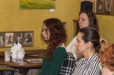 Слухачі лекції «З історії української моди ХХ століття» Зеновії Тканко