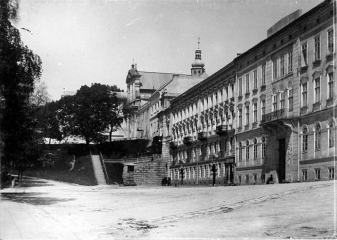 Будівля НТШ, поч. ХХ ст.