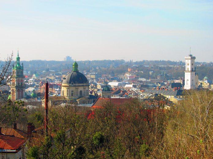Панорама Львова. Фото Сергія Гуменного
