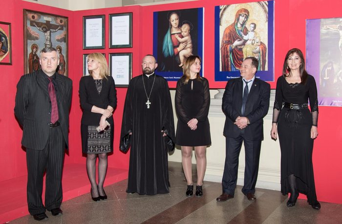 Відкриття виставки робіт Йова Кондзелевича