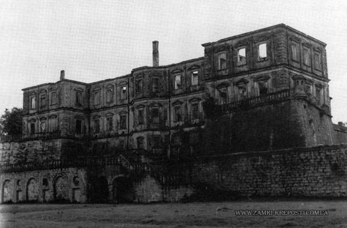 Підгорецький замок після пожежі у 1956 р. (1957 р.)