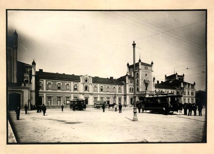 Львівський головний двірець (вокзал), 1894 р.