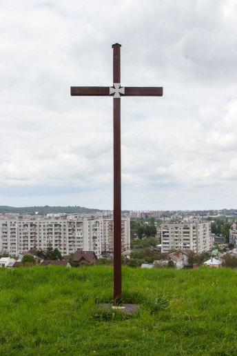 Пам'ятний хрест на горі Род, 2017 р.