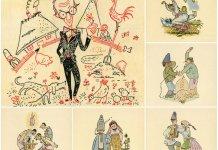 Українське село в карикатурах Едварда Козака