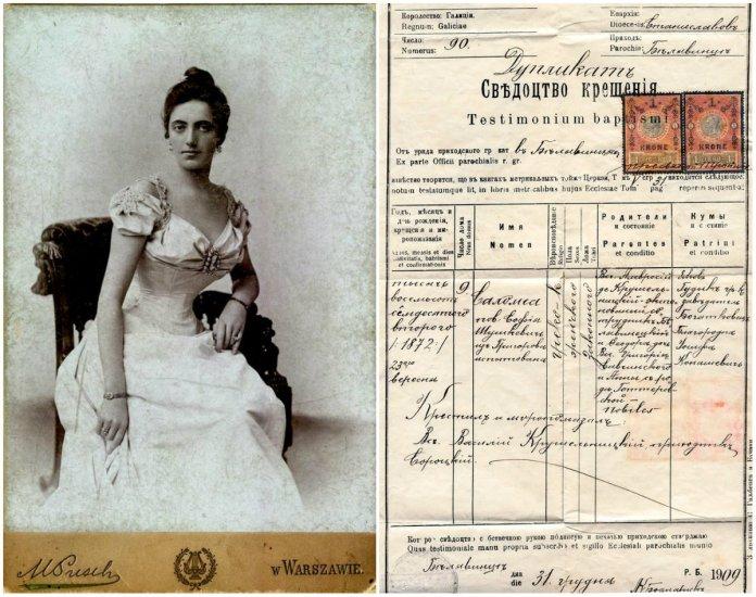 Xому оперна діва Соломія Крушельницька приховала вік