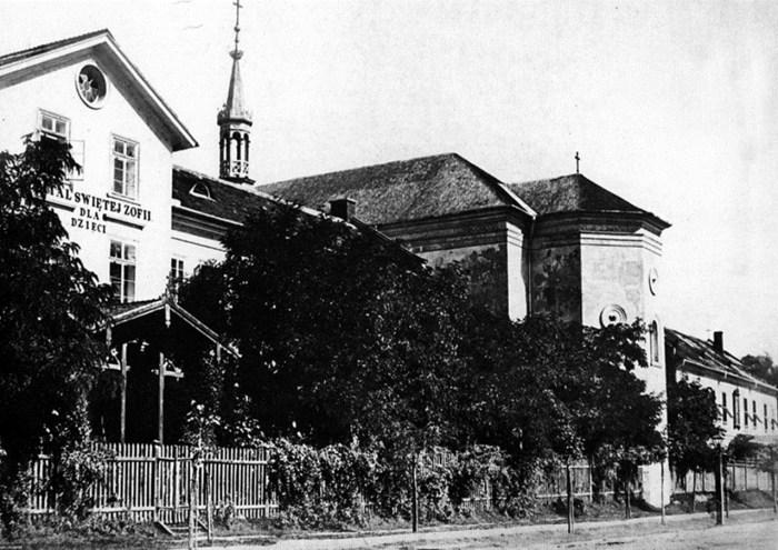 Монастир Св. Терези на вул. Леона Сапєги, поч. ХХ ст.