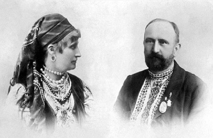 Герміна та Володимир Шухевичі