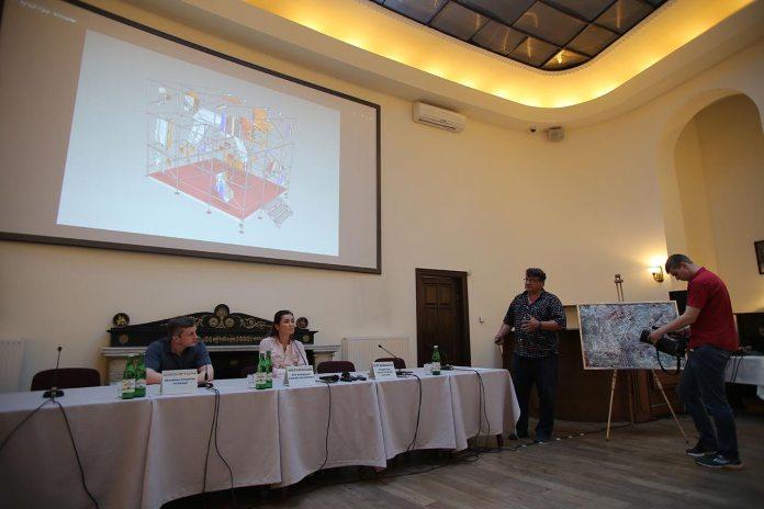 """презентація арт-фундації """"Вільні"""" та її першого проекту """"Арт-куб"""""""