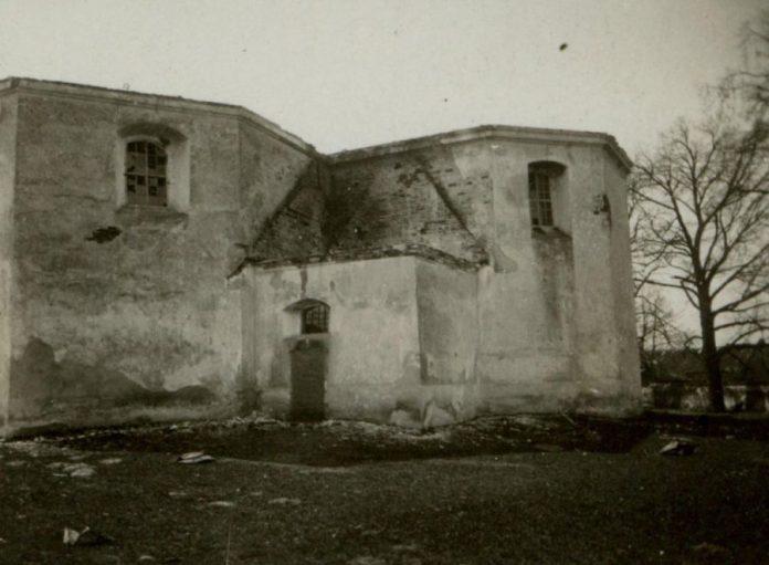 Костел Святої Трійці в Магерові, 1914 р.