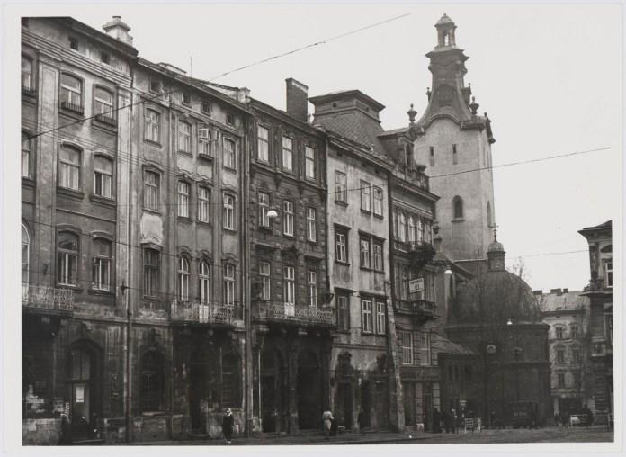 Львів, площа Ринок, фото 1976 року