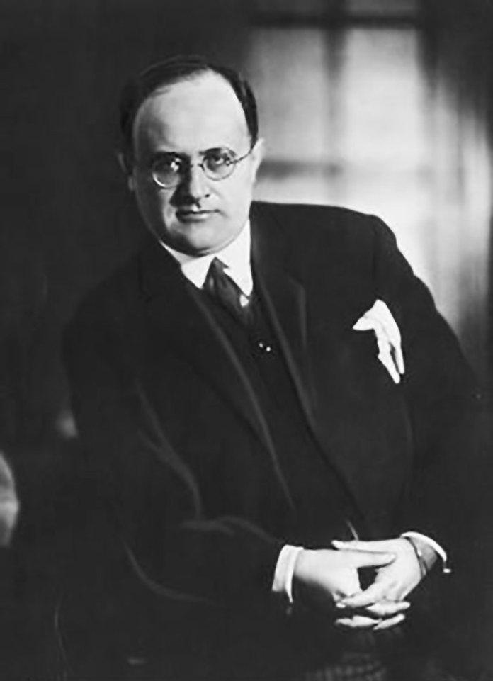 Вільгельм Флям-Пломєньський зі Львова, керівник оперної школи оперного театру Колон в Буенос-Айресі у1932 р.